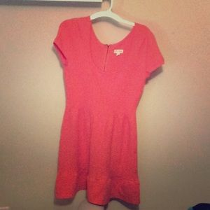 Maison Jules Coral knit dress